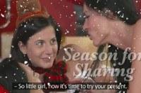 Оргия порно ххх видео Hot christmas lesbian threesome