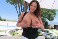 Порно ххх видео Anal with thight butt and huge boobs