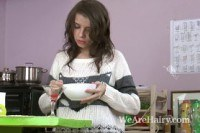 Стройные порно ххх видео Christy makes a drink and then strips