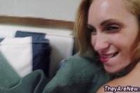 Милые порно ххх видео Teen amateur face creamed