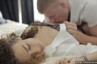 Порно ххх видео Teeny lovers sensual teens make sweet