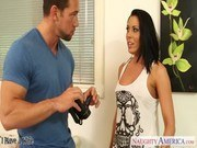Брюнетки порно ххх видео Hot brunette wife rachel starr gets