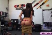 Жопы порно ххх видео Sweet teen grinds in a hard cock