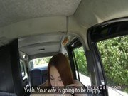 Британское порно ххх видео Beautiful ass redhead bangs in fake taxi