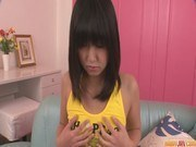 Порно ххх видео Kotomi teen asian gives blowjobs in a