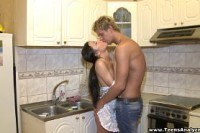 Порно ххх видео Teens analyzed assfucked in a kitchen