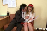Русское порно ххх видео Salacious drillings from teacher