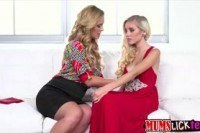 Порно ххх видео Milf cherie deville gives a teen an