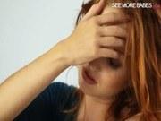 Чувственное порно ххх видео Stunning redhead pornstar michelle