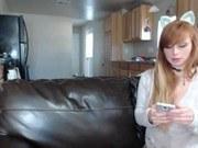 Порно ххх видео Amateur may marmalade flashing pussy on