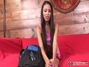 Этническое порно ххх видео Skinny alexis love spreads legs for