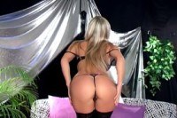 Грудастые порно ххх видео Busty blonde in high heels and black