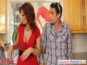 Порно ххх видео Stockinged mom syren de mer fucking in
