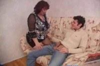 Огромный член порно ххх видео Slutty mature fat wife cheating with