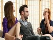 Брюнетки порно ххх видео Hardcore threesome fuck