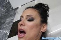 Большие сиськи порно ххх видео Busty raven gusher being pussy eaten