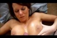 Порно ххх видео Cumming on an amazing pair of tits