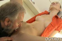 Русское порно ххх видео Horny young babe screwed by old guy