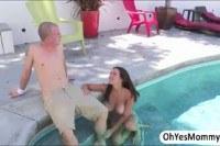 Порно ххх видео Milf eva and teen shae shares cock in