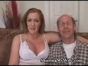 Интервью порно ххх видео Wussy hubby shares hot wifey