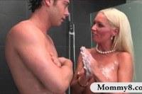 Зрелые порно ххх видео Busty stepmom diana doll threesome sex