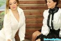 Доминирование порно ххх видео European bathtime threesome with cindy