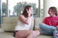 Раком порно ххх видео Brunette teen delilah gets her pussy