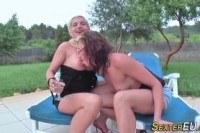 Порно ххх видео German lesbians finger