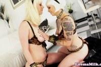 Странное порно ххх видео Emo enema lesbos enjoying anal