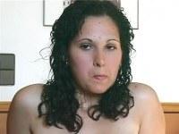 Анальное порно ххх видео Testing hairy anal hole of brunette