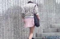 Писающие порно ххх видео Weird japanese pee street