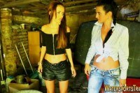 Странное порно ххх видео Toying lesbos pee soak
