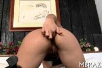 Порно ххх видео Stunning fuck of brazilian hottie