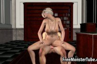 Мультики порно ххх видео Classy d cartoon blonde gets fucked by