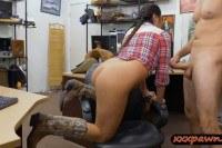 Любительское порно ххх видео Texas cowgirl anal fucked by pawn dude