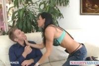 Порно ххх видео Brunette india summer gets pussy fucked