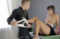 Порно ххх видео European teen anal fucked