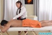 Фетиш порно ххх видео Cfnm european schoolgirl massage dudes