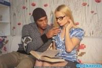 Большой член порно ххх видео Euro spex teen interracially fucked