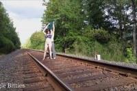 От первого лица порно ххх видео Tigglebitties sex on tracks
