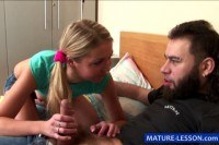 Порно ххх видео Grow educating kinky young couple