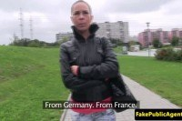 Европейское порно ххх видео Tricked eurobabe outdoorfucked by agent