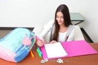 Игрушки порно ххх видео Brunette student arielle faye fits huge