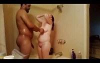 Скрытая камера порно ххх видео Spying my moms interracial shower sex