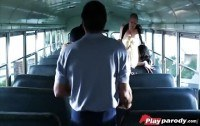 Училки порно ххх видео Horny blonde teacher initiates thebus