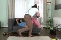 Брюнетки порно ххх видео Realitykingseuro sex partiesdouble duty
