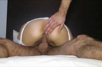 Втроем порно ххх видео Hot milf dped and creampied